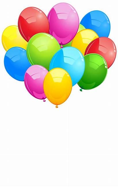 Balloons Bunch Transparent Cartoon Clip Clipart Luftballons