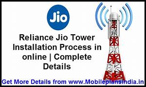 Jio Tower Installation In Online Earn Up To Rs 40000