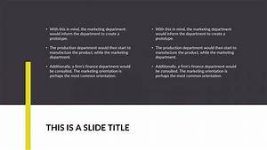 ucl powerpoint template - project idea free powerpoint template
