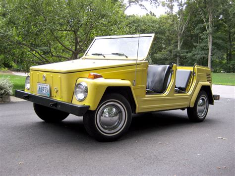 The Volkswagen Thing by 1973 Volkswagen Thing Pictures Cargurus