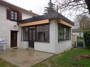 Kit Extension Bois Toit Plat : extensions nordi bois construction maisons madrier et ossature bois ~ Farleysfitness.com Idées de Décoration