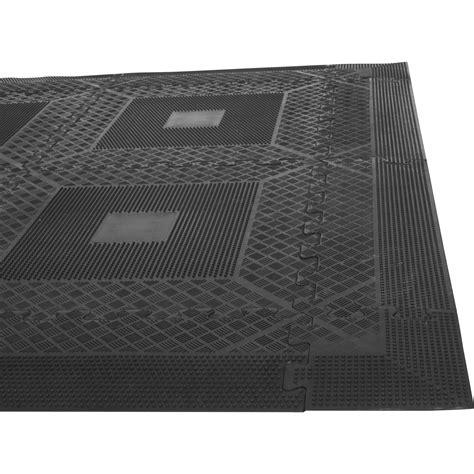 tapis puzzle de protection avec bordures 1 2cm d 233 paisseur en caoutchouc 16 233 l 233 ments tapisdesolset