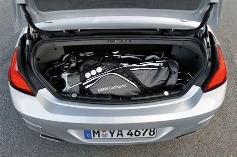 foto bmw er cabrio mit   liter grossem kofferraum