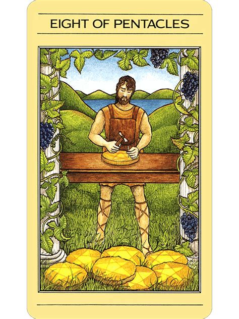 Mythic Tarot Deck Images by Mythic Tarot The Fools Dog