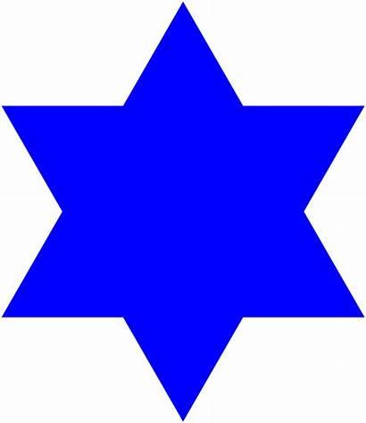 Svg David Star Filled Jewish Clipart Commons