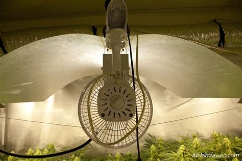 chauffage chambre de culture la ventilation de la culture de cannabis du