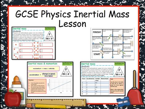 New Aqa Gcse Physics Inertial Mass Lesson By Chalky1234567  Teaching Resources Tes