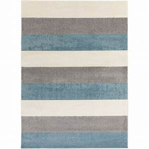 Henderson modern area rug with blue grey and beige color for Modern grey carpet texture