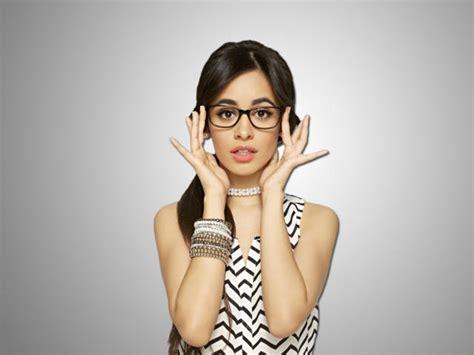 Cute Camila Cabello Glasses Wallpaper Celebrities