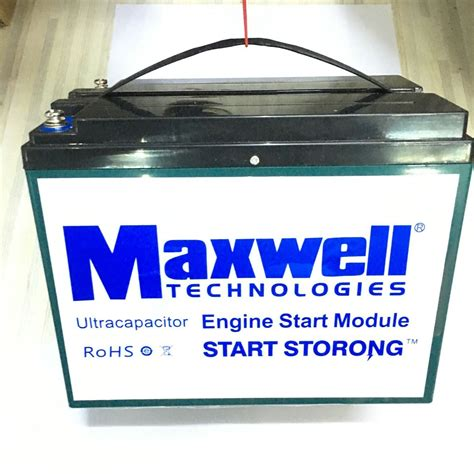 maxwell   super capacitor car battery  graphene