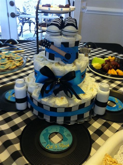 23 Best Images About Rock Star Baby Shower On Pinterest