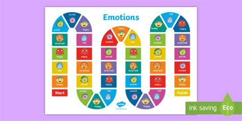 Mood Monsters Emotions Board Game