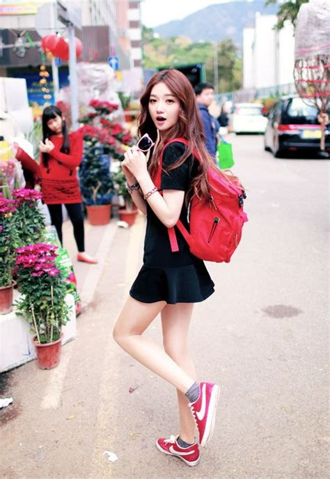Tags  kpop korea korean style fashion sneakers college school backpack cool cute girl girls ...