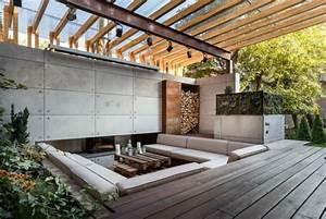 Salon Exterieur Design : transformer un patio en salon d 39 ext rieur ~ Teatrodelosmanantiales.com Idées de Décoration
