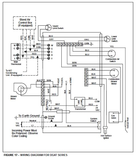 Mobile Home Furnace Wiring Heat by Coleman Evcon Heat Wiring Diagram Furnace Blower
