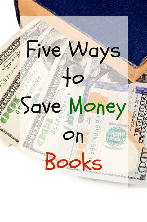 Five Ways To Save Money On Books  Page And Screen