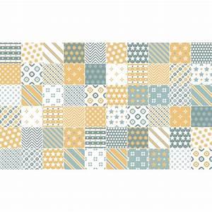 Stickers Carreaux De Ciment : 60 stickers carreaux de ciment dagmar salle de bain et ~ Melissatoandfro.com Idées de Décoration