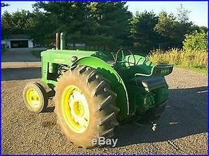 1951 John Deere AR Antique Tractor NO RESERVE Nice Tractor