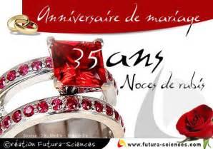 35 ans de mariage carte virtuelle gt noces de rubis 35 ans