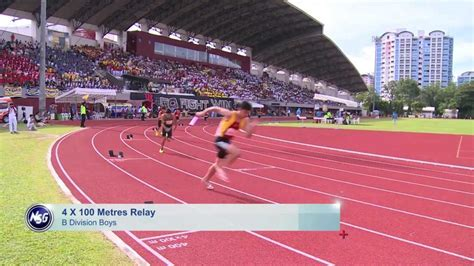 Singapore Sports School Dominates In Track And Field