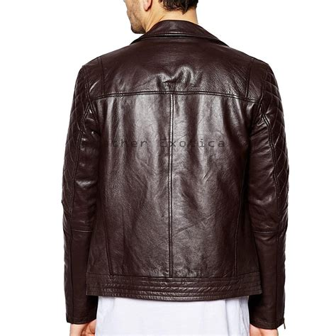 motorcycle style leather jacket cool style men leather jacket motorcycle men leather jacket
