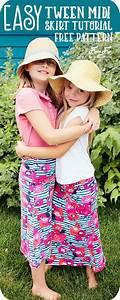 Girls Skirt Pattern Finish In Under 30 Minutes  Free