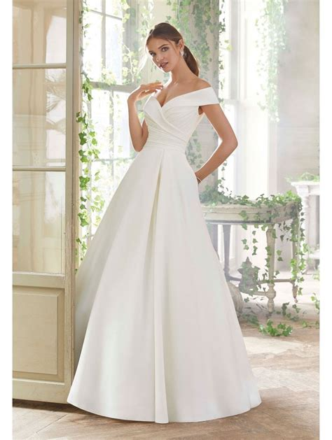 Mori Lee 5712 Providence Portrait Neckline Ball Gown Style