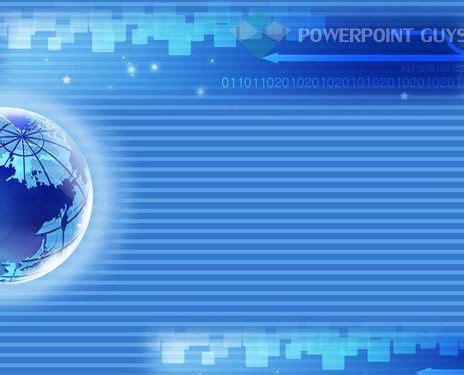 digital powerpoint template technology powerpoint