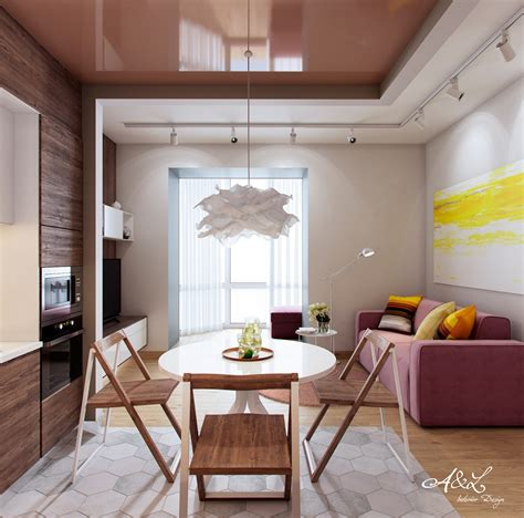 5 Contrasting Small Apartment Designs by 5 Innovative Apartment Designs That Make Small Areas Sing