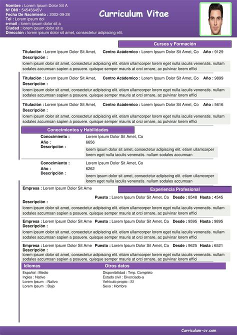 Formato De Curriculum Vitae  Plantillas Y Ejemplos Pdf. Dollar General Printable Application For Employment. Letter Writing Format Grade 10. Cover Letter Architecture Firm. Letter Of Intent Sample In The Philippines. Cover Letter Sample For Education Officer. Cover Letter Sample Accounting. Curriculum Vitae Modelo Uruguay. Curriculum Vitae Pdf Mexico