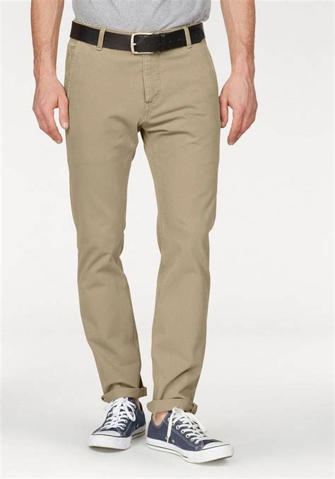 dockers chinohose smart  flex alpha slim tapered mit