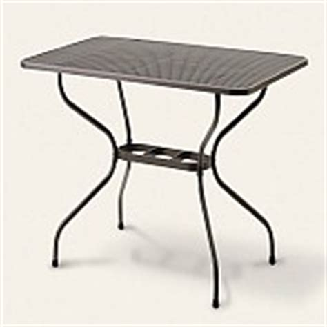 kettler outdoor rectangle mesh patio tables