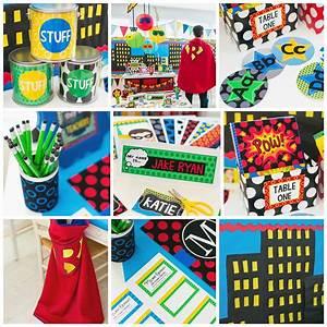 Superhero Classroom Theme - SchoolgirlStyle