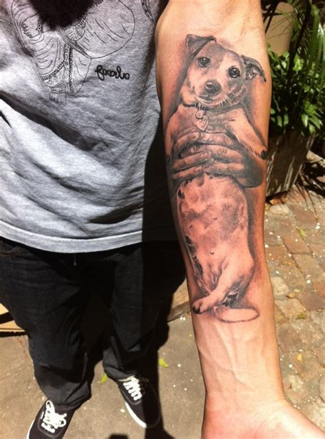 The  Coolest Jack Russell Tattoo Designs In The World