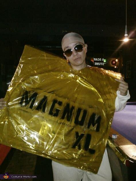 magnum condom costume