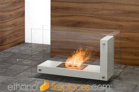 Indoor Biofuel Fireplace - free standing ethanol fireplaces contemporary indoor