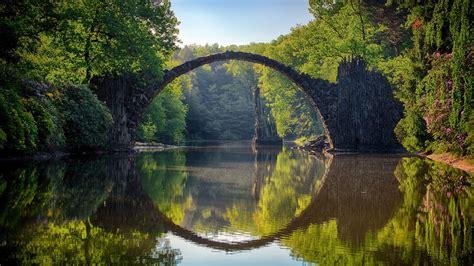 Devils Bridge Lake Photography Hd Wallpaper 4k Free Download