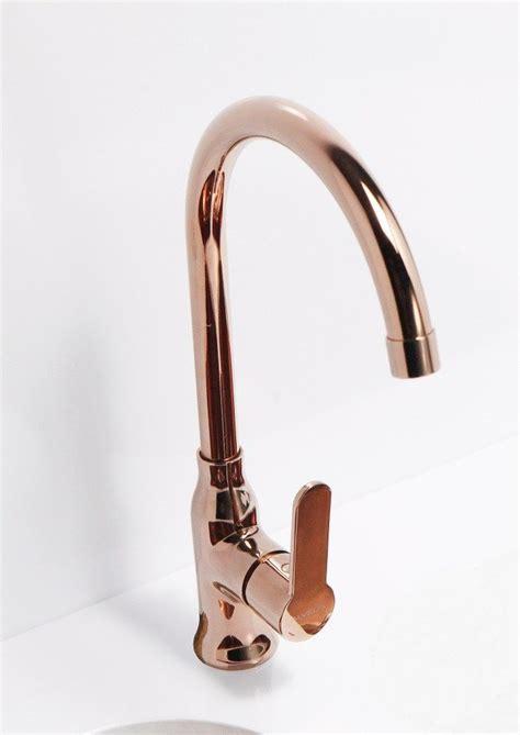 polished brass kitchen faucets copper kitchen mixer tap monobloc alveus monarch slim