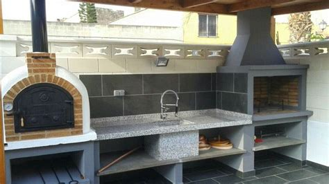 cuisine lena barbacoa nati ancho hogar de metro horno leña barbecue cuisine exterieur