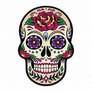 Tete De Mort Mexicaine Dessin : stickers t te de mort mexicaine ~ Melissatoandfro.com Idées de Décoration