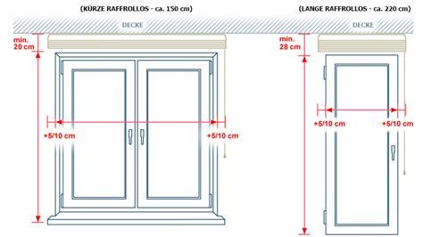 Gardinenstange Abstand Zur Decke by Wundersch 246 Nes Raffrollo Nach Ma 223 Rollo Faltenrollo