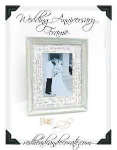 wedding anniversary frame can decorate - Wedding Anniversary Photo Frames