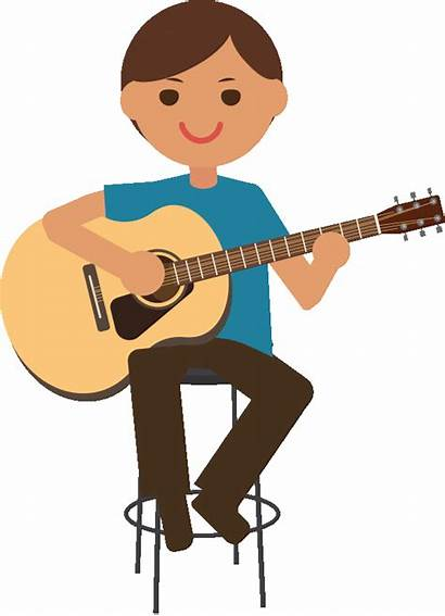 Clipart Instruments Shaker Guitar Transparent Play Draw