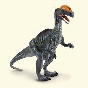 DILOPHOSAURUS # 88137 Realistic Dinosaur Replica Free Ship ...  Dilophosaurus