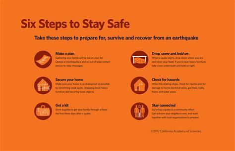 prepare   earthquake california academy