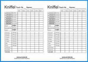 6 Kniffel Vorlage Business Template