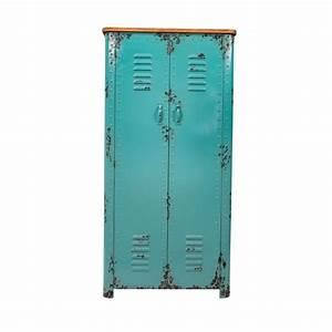 Petit Casier Metal : armoire casier en m tal rusty dutchbone by drawer ~ Teatrodelosmanantiales.com Idées de Décoration