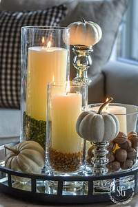 decorating with candles THANKSGIVING 10 MINUTE DECORATING