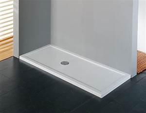 Receveur Extra Plat 160x90 : receveur de douche olympic plus hauteur 4 5 cm avec bonde ~ Edinachiropracticcenter.com Idées de Décoration