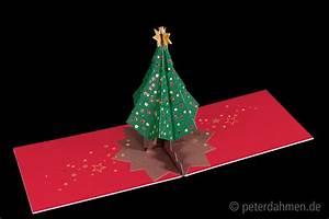 Pop Up Karte : anleitung pop up karte weihnachtsbaum ~ Markanthonyermac.com Haus und Dekorationen
